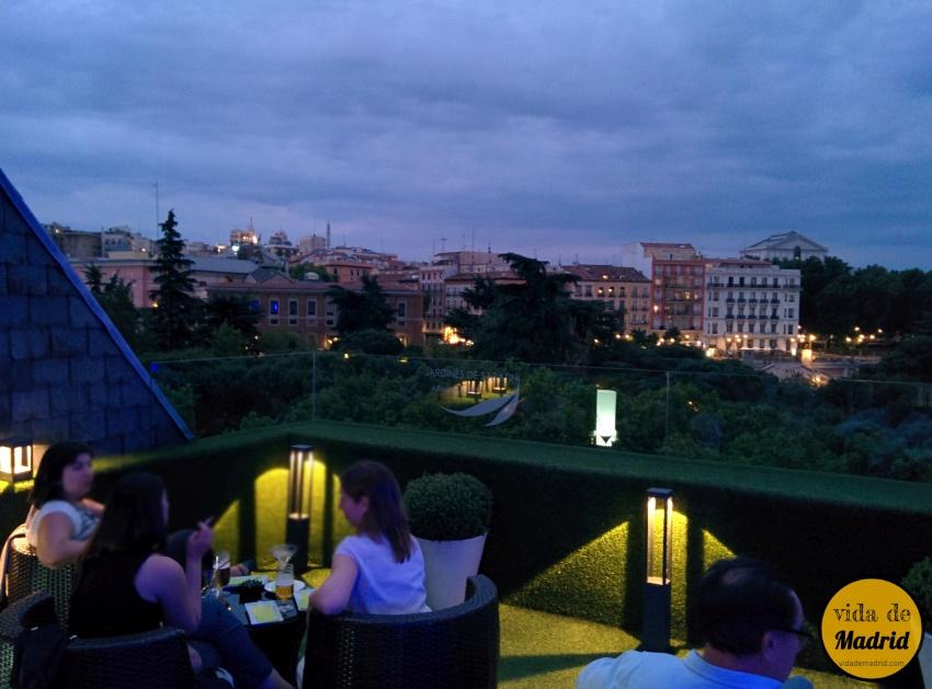 Aparthotel sabatini madrid - Terrazas romanticas madrid ...