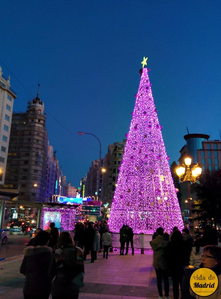 Luces navidad madrid 2015 2016 fecha encendido horarios - Mercado de navidad en madrid ...