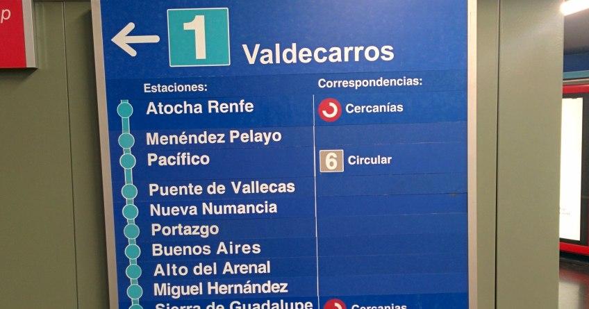 Mapa Del Metro De Madrid Linea 1.Metro Madrid Linea 1 2016 Cerrada 4 Meses Cierre
