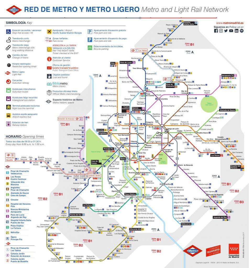 Metro Madrid 2018: mapa actualizado, nuevas estaciones