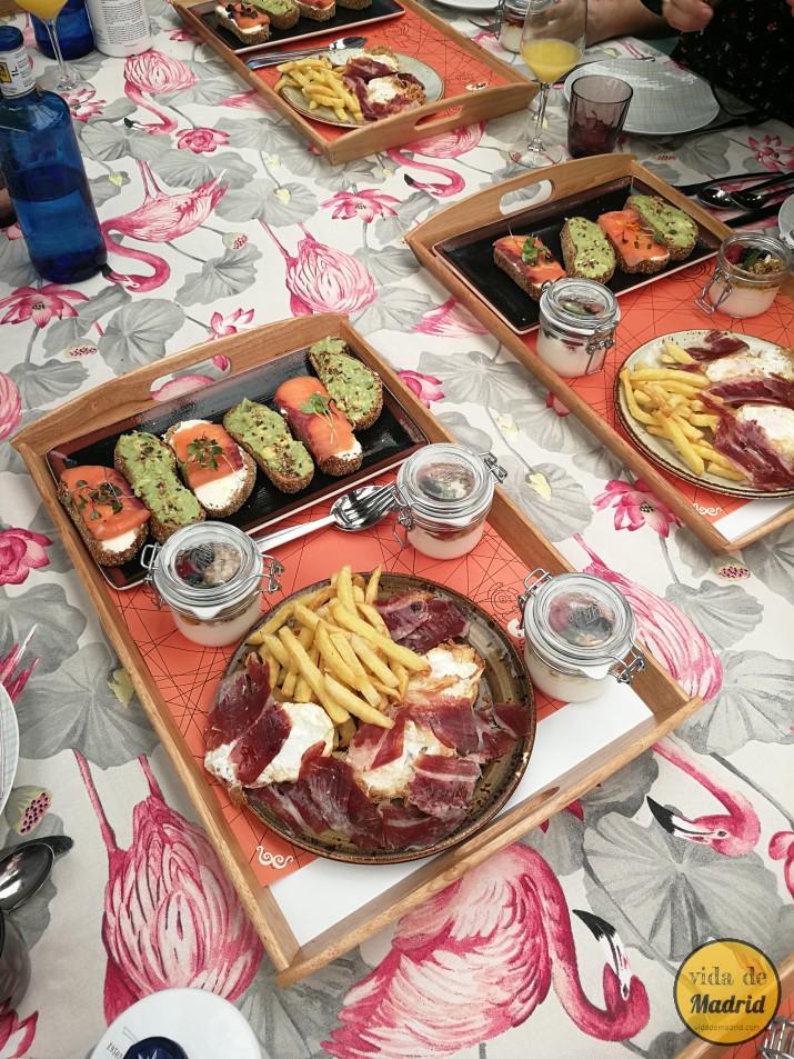 Brunch madrid en la cocina de san ant n en la terraza - Cocina de san anton ...