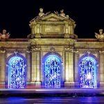 Encendido del alumbrado de Navidad en Madrid