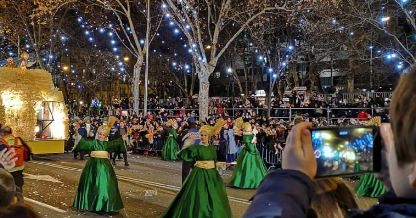 Cabalgata de los Reyes Magos en Madrid este 2020