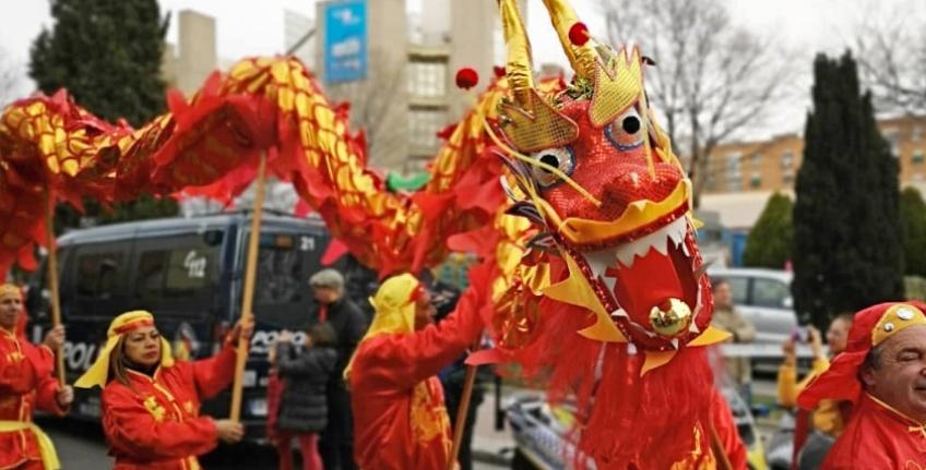 Año Nuevo Chino este 2020 en Madrid y el desfile