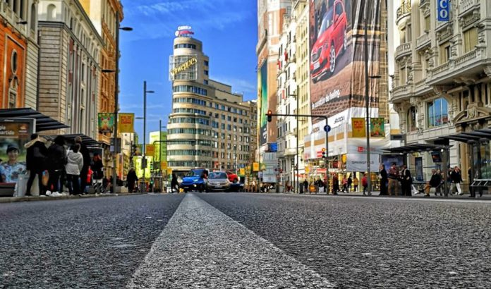 Tienda de Salsa en Gran Vía en Madrid