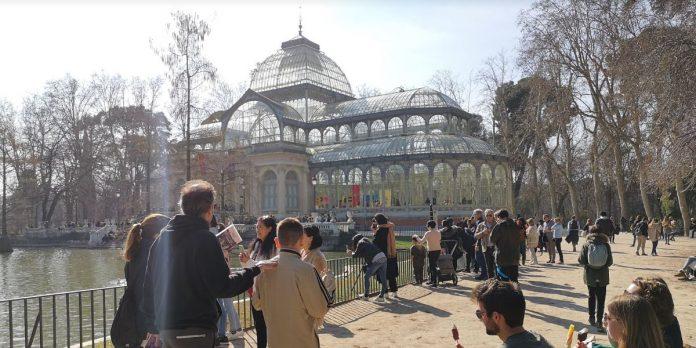 Palacio de Cristal exposición actual 2020 verano