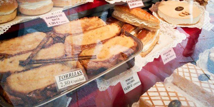Dulces tipicos Semana Santa en Madrid