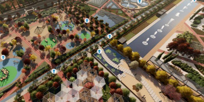 Plano del nuevo Parque de Santander