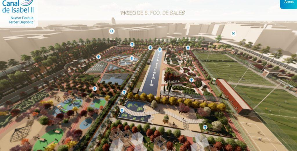Nuevo Parque Tercer Depósito