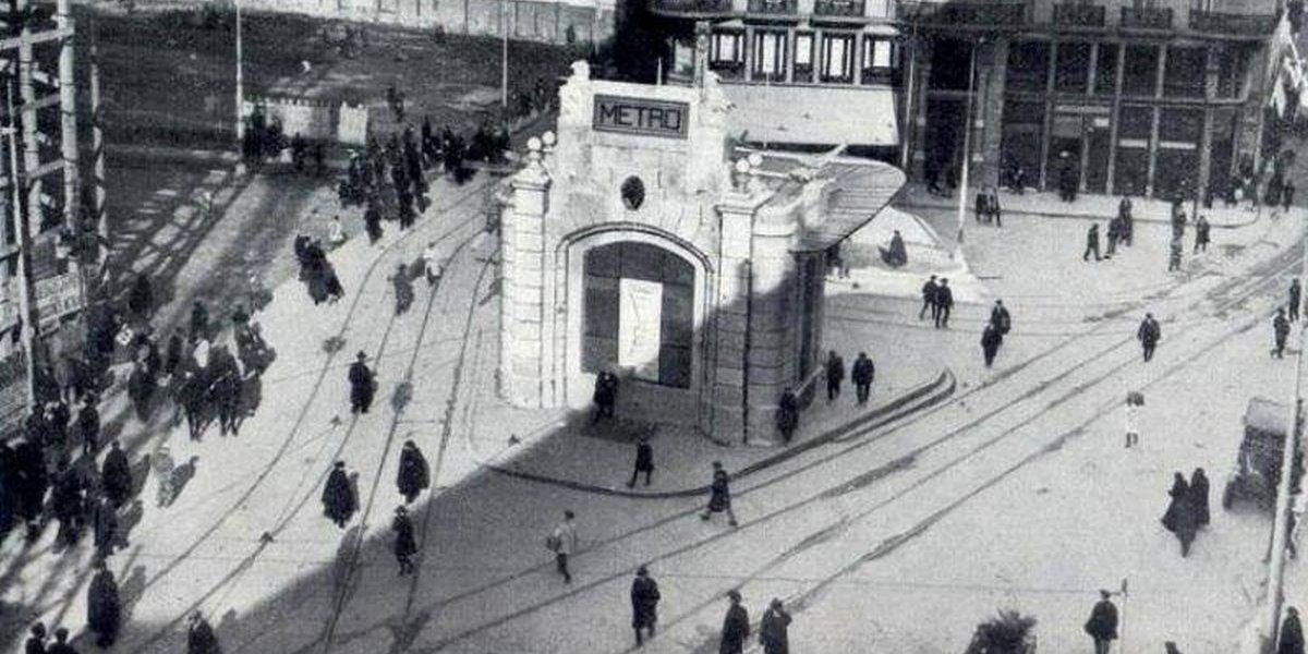 Templete del Metro Gran Vía de Madrid